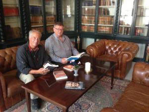 med Steen Lorenzen og Finn Madsen